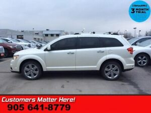 2014 Dodge Journey R/T  AWD NAV DVD CAM P/SEAT HS 5-PASS U-CONNE
