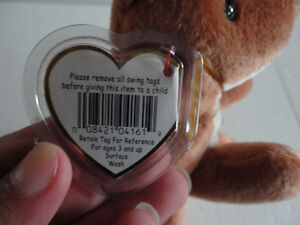 TY POUCH The KANGAROO MOTHER AND JOEY RETIRED BEANIE BABY, TUSH London Ontario image 7