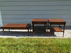 Matching Coffee Table and 2 End Tables - NEW PRICE