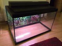 Aquarium, Fish Tank 74 litres including all equipment & accessories. Great complete set!