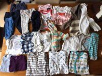 3-6m large bundle for boys