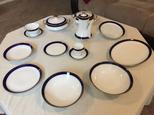 Original German porcelain for 12 person