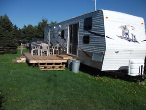 Trailers For Rent at Twin Shores Campground