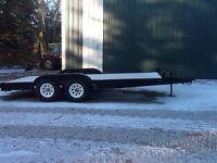 2000 Rainbow Car Trailer 16ft