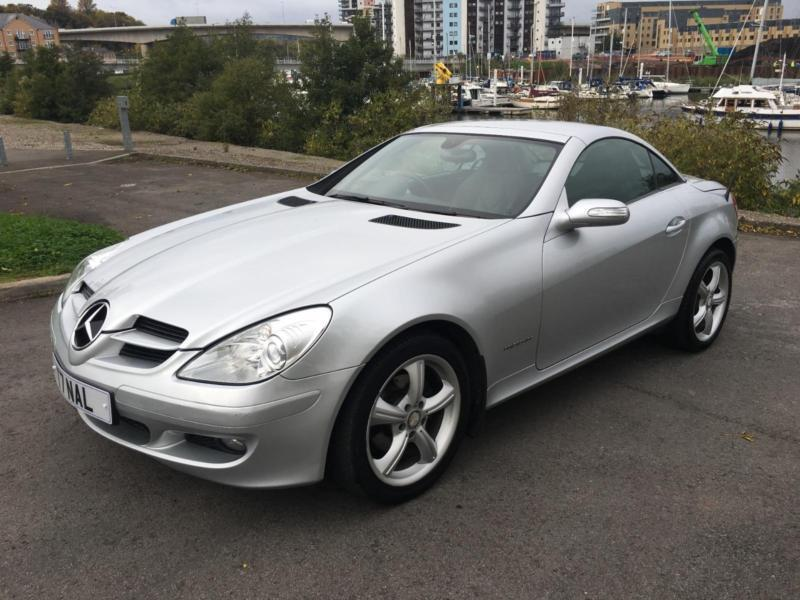 2007 mercedes slk slk200 kompressor convertible petrol in penarth vale of glamorgan gumtree. Black Bedroom Furniture Sets. Home Design Ideas