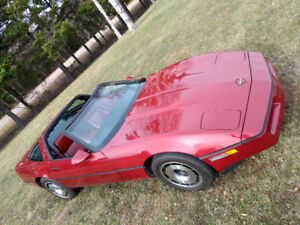 Mint 1984 Corvette (some trades considered, Located in PEI)