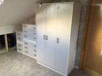 Wardrobe, Chest of Draws & Bedside Units Bedroom Furniture Storage