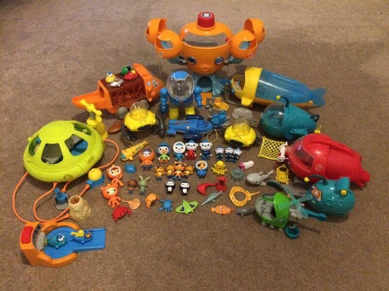 Octonauts Toys Octopod Gups Characters In Bearsden