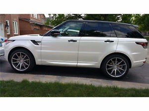 2015 Land Rover Range Rover Sport Supercharged SUV, Crossover