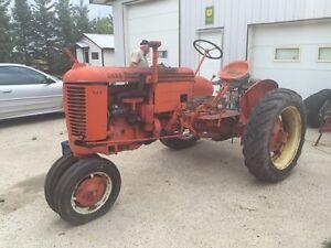 1947 Case Model Vac Tractor