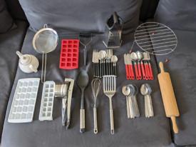 Kitchen utensils (negotiable prices in description)