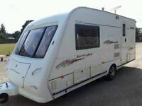 2004 ELDDIS HURRICANE 2 BERTH LIGHT WEIGHT COMES WITH A FITTED MOTORMOVER VGC