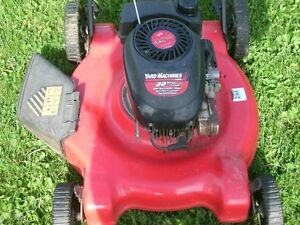obo yard machines 22 cut side discharge/mulch tuned up