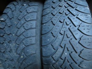 2 p205/55r16 goodyear winter tires $80.00