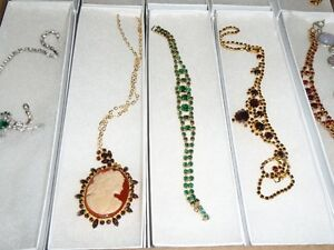 Vintage High End Costume Jewellery from the 1960's, Necklaces