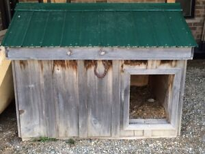 100 obo Large outdoor doghouse