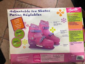 Girls skates adjustable