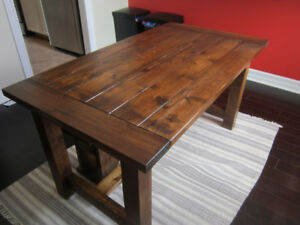 Cedar Farmhouse tables and benches