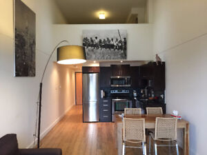 Mile End Loft- Fully Furnished w/ Parking and Storage space