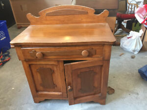 Antique Wash Stand  In Good Shape