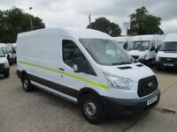 2015 15 reg FORD TRANSIT L3 H2 FWD 125PS WORKSHOP VAN UTILITY SPEC 50,000 MILES