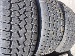 Four 205 60 16 winter tires on rims