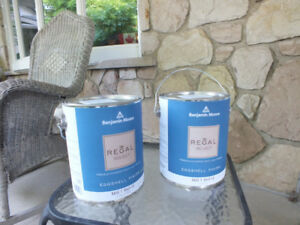 Benjamin Moore Regal Select 2 unused cans