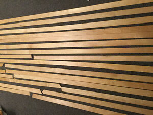 Solid Maple Baseboards