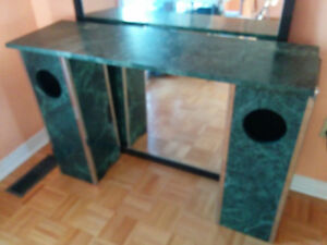Solid Marble - Counter/Vanity/Desk