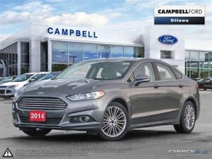 2014 Ford Fusion SE AWD-LEATHER-ONLY 55,000 KMS