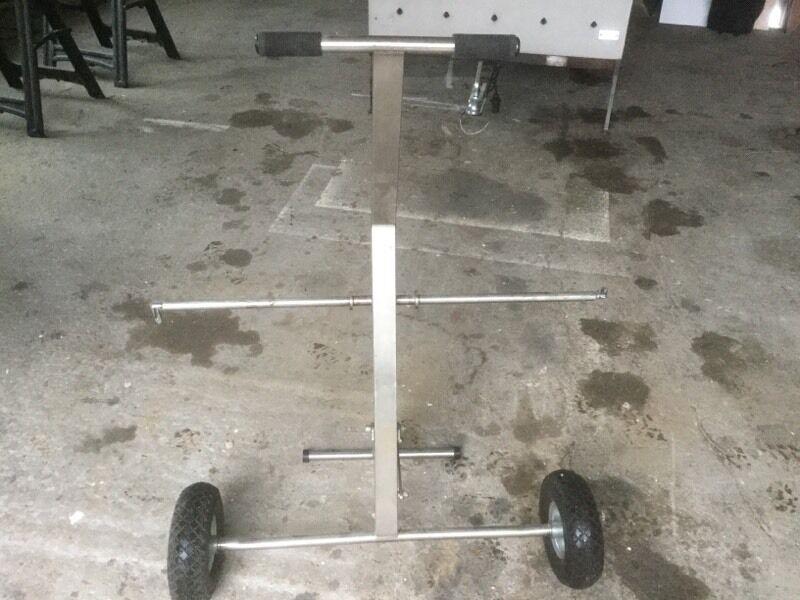 Motorbike wheel stand