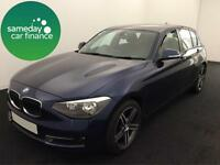 £194.56 PER MONTH BMW 118D 2.0 SPORT HATCHBACK 5 DOOR DIESEL MANUAL