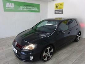 BLACK VOLKSWAGEN GOLF 2.0 GTI DSG ***from £314 per month***