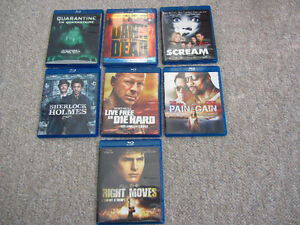 Variety of Movies on Blu-Ray - 7 To Choose From