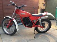 Twinshock trials bike
