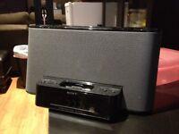 Sony Dream Machine iPod /iPhone dock, radio/alarm clock