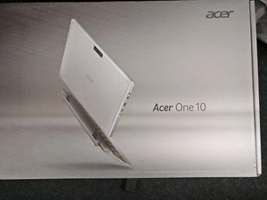 "Brand new window 10 Acer One Tablet S1002 IN-1 10.1"" 1.33GHz 32G"