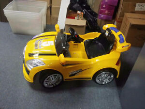 kids ride on motor cycle & cars $160 to $440 with warranty
