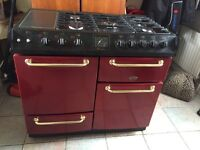 Belling farmhouse range cooker gas and electric