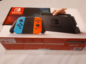 Nintendo Switch console, Brand New