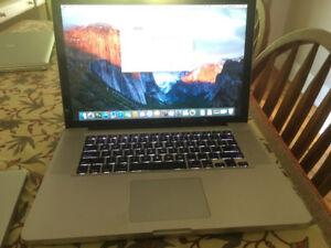 MacBook Pro 15 inch Late 2008