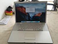 """17"""" Macbook Pro 4GB 500HD EL Capitan!"""