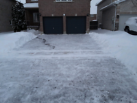 Fast, reliable snow shoveling or blowing
