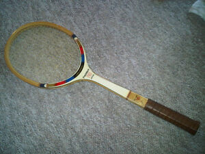 Vintage/Antique Jelinek President Pro Tennis Racket by Kawasaki