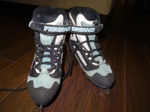 Figure Skates - size 4 - Soft sided and warm