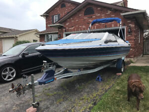 1989 Bayliner bowrider 17 1/2 foot
