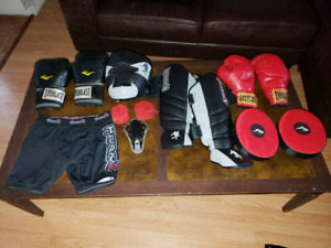 Kit de boxe, kickboxing