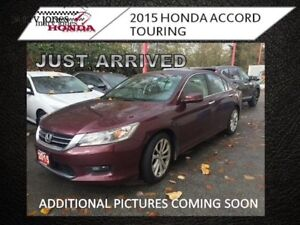 2015 Honda Accord Sedan Touring  - local - Navigation - $164.50