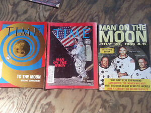 1969 Man on the moon Magazines