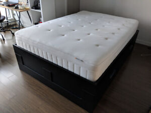 IKEA BED VERY CLEAN, USED FOR 6 MONTHS ONLY 3 DAYS LEFT